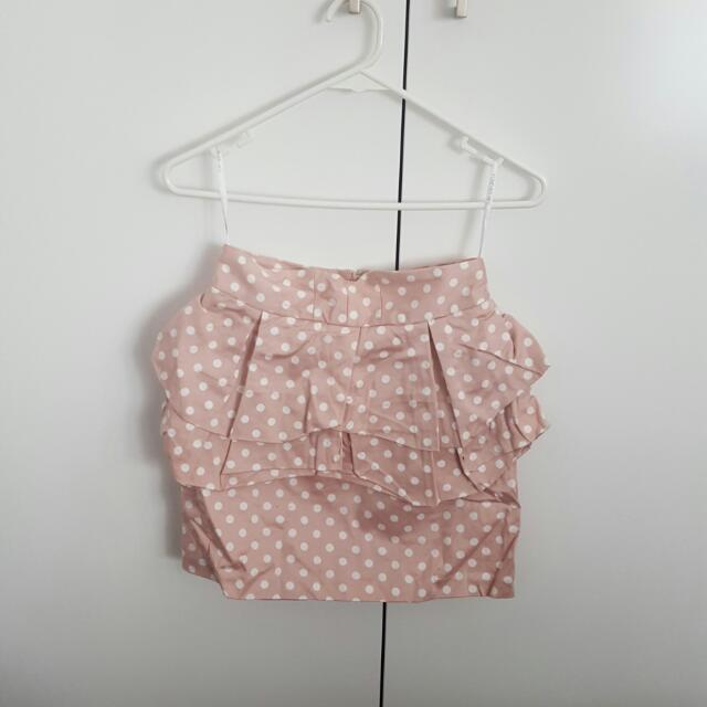BNWT FOREVER NEW Polka Dot Skirt Size 6