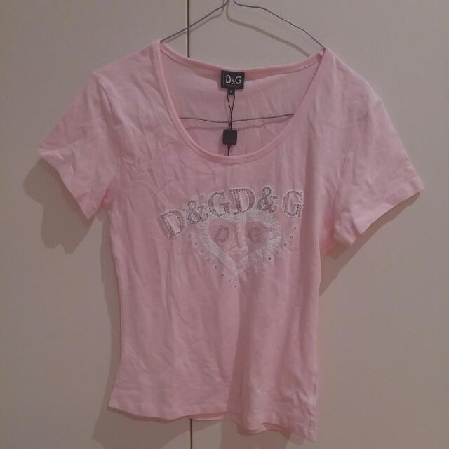 D&G Pink Shirt Size 8-10
