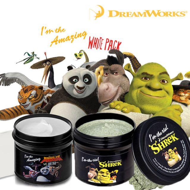 「保證便宜」DreamWorks夢工廠~功夫熊貓~白面膜