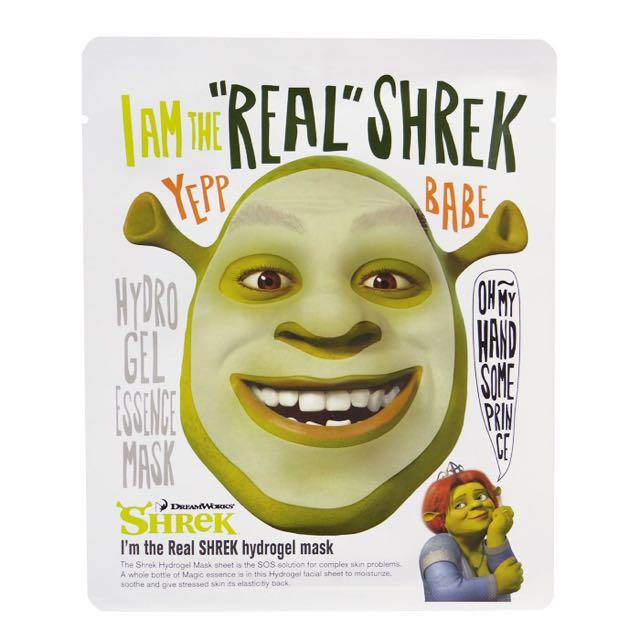 「保證便宜」DreamWorks夢工廠~史瑞克~面膜(一片入)