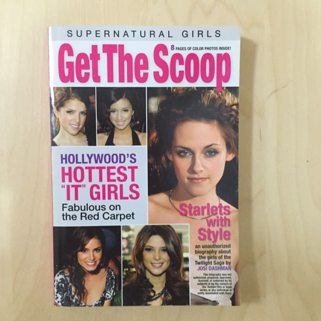 Get The Scoop : Supernatural Girls