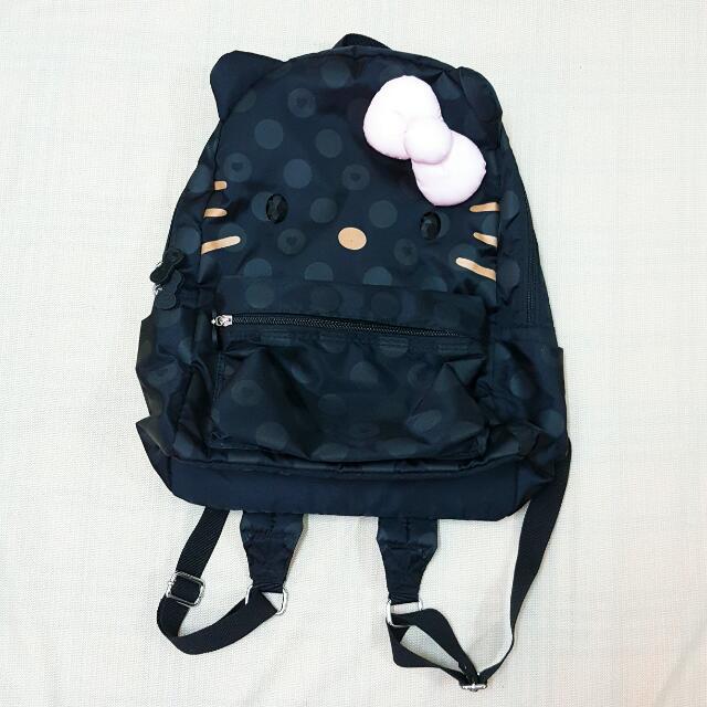 【近全新】Hallmark-Kitty聯名款後背包