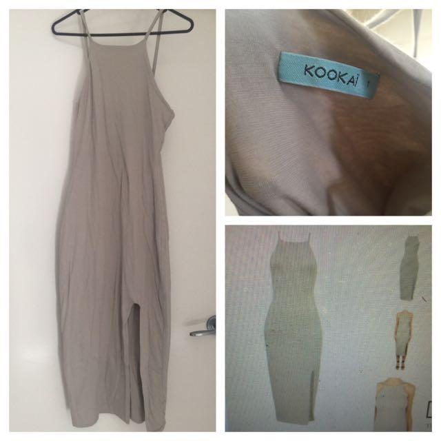 KOOKAI HAYLEY SHADOW DRESS