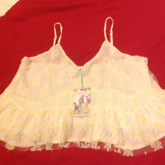 Lace Daisy Top