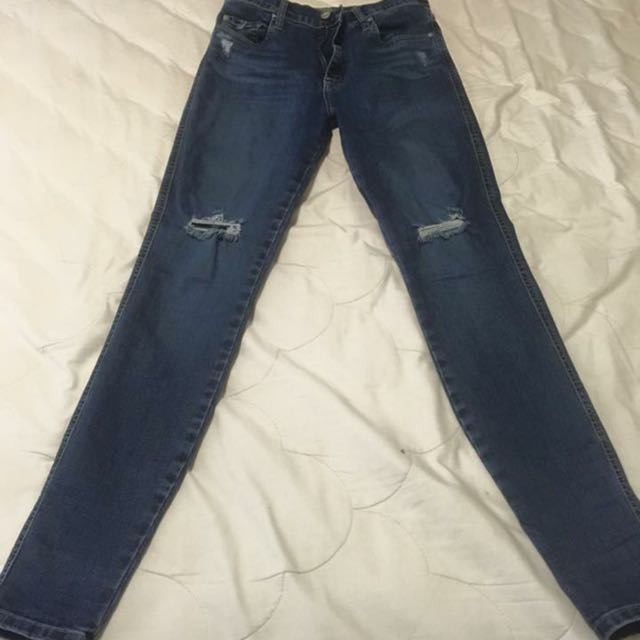 Ladies Nobody Cult High Waist Jeans