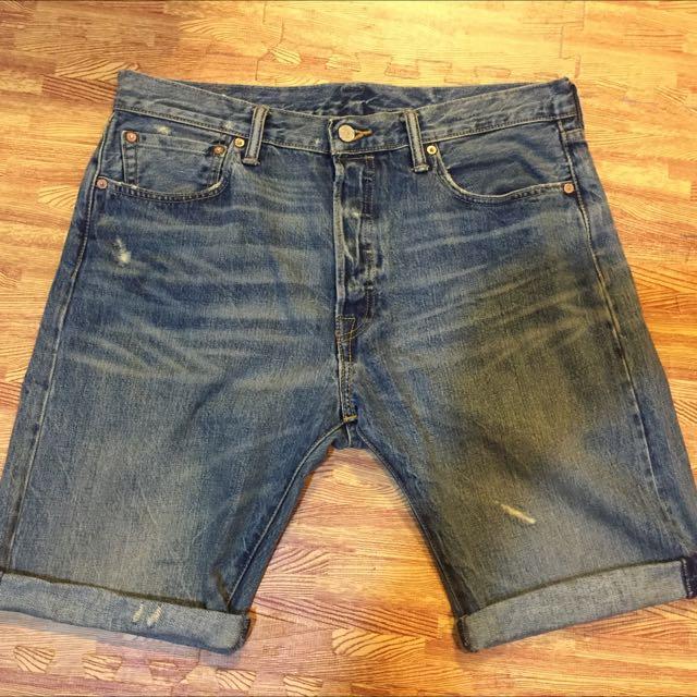 Levi's 501 牛仔短褲 W34