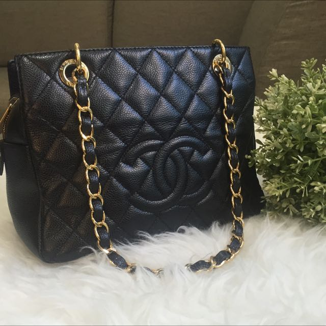 1917fe19d34e 💎SOLD!!!💎 RARE - Excellent Condition Chanel Petite Timeless Tote ...