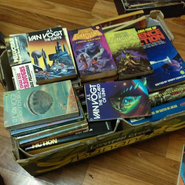 Vintage Science Fiction Books