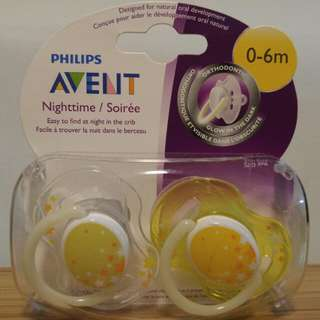 Philips Avent Pacifiers (Nighttime)