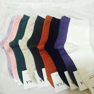 單賣-素色襪襪