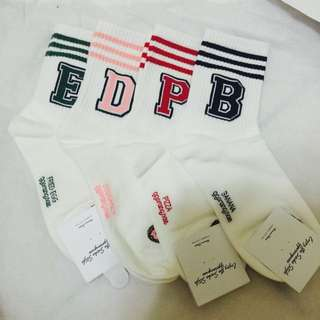 單賣-字母襪襪