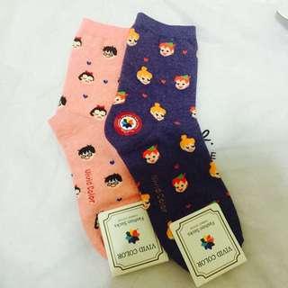 滿版襪襪兩雙