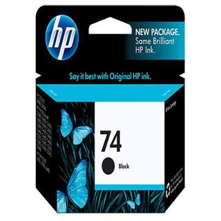 HP 74 Ink Cartridge (Black)