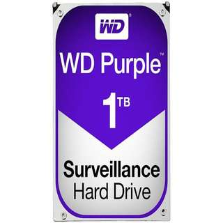 WESTERN DIGITAL DRIVES. WD Purple 1TB Surveillance Hard Disk Drive - Intellipower SATA 6 Gb/s 64MB Cache 3.5 Inch - WD10PURX
