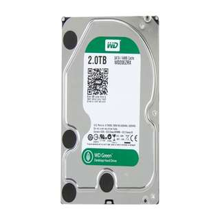 Western Digital WD Green WD20EZRX 2TB IntelliPower 64MB Cache SATA 6.0Gb/s 3.5 Internal Hard Drive Bare Drive