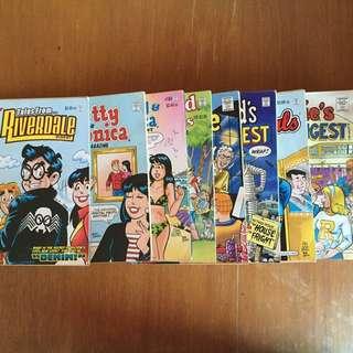 Archie Comics Assorted