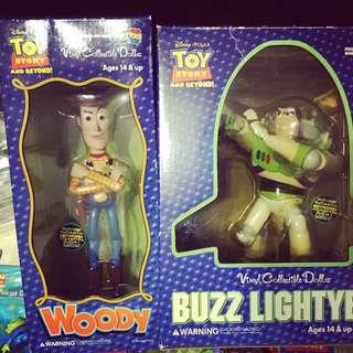 議價不回 玩具總動員 巴斯光年 胡迪 Medicom Toy 日本帶回 絕版