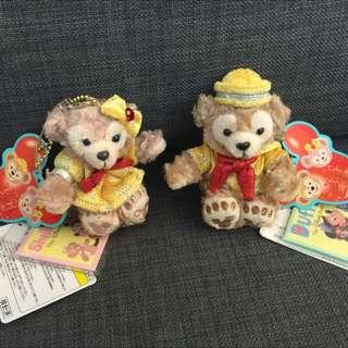 迪士尼30週年慶Duffy&ShellieMay吊飾(降價)