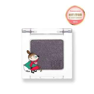 韓國代購現貨!! CODE X MOOMIN 亞美單色眼影盤-深紫色