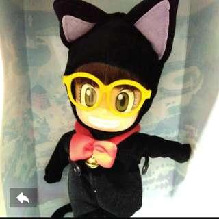 "Dr Slump Arale Chan Collectible Doll Figure 11"" - Cat Costume"
