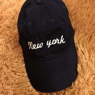 Brandy Melville Ny Cap 藍色紐約鴨舌帽