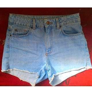 Top shop: High Waisted Shorts