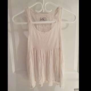 Lace Back Summer Top