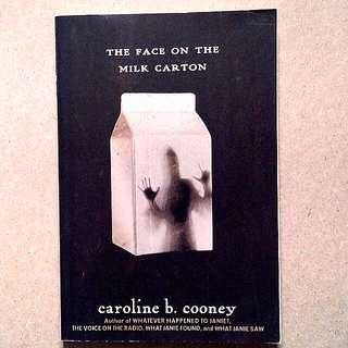 Novel - The Face On The Milk Carton