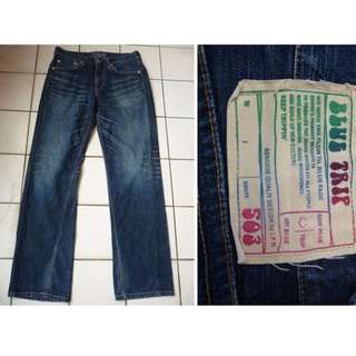 NT$500含運【二手】Edwin 503 BLUE TRIP 刷 白 牛仔褲 尺寸31