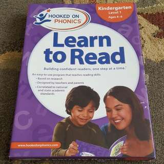 Hooked on Phonics (Kindergarten level 1)