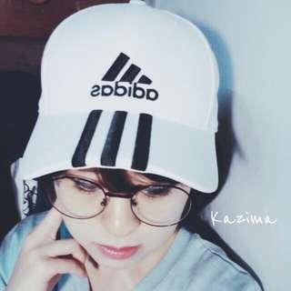 Adidas 三條線刺繡老帽 黑、白、灰白、灰黑、紅、粉橘(桃) 可調整 現貨 台灣公司貨 正品實拍 含吊牌
