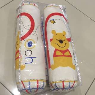 Winnie The Pooh Baby Bolster & Pillow Set