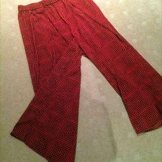 H&M Cropped Culotte Pants - Size 10/12