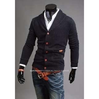👀《促銷》4/20韓版型男V領針織衫