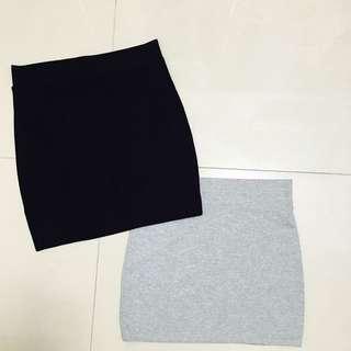 棉質包裙剩黑色