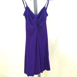 Purple Night Out Dress