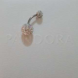 Swarovski Belly Bar