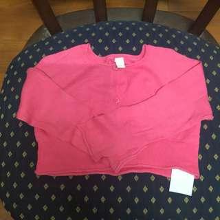 Esprit女童短版針織外套