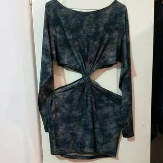 Lovers And Haters Cut Out Dress Size 8