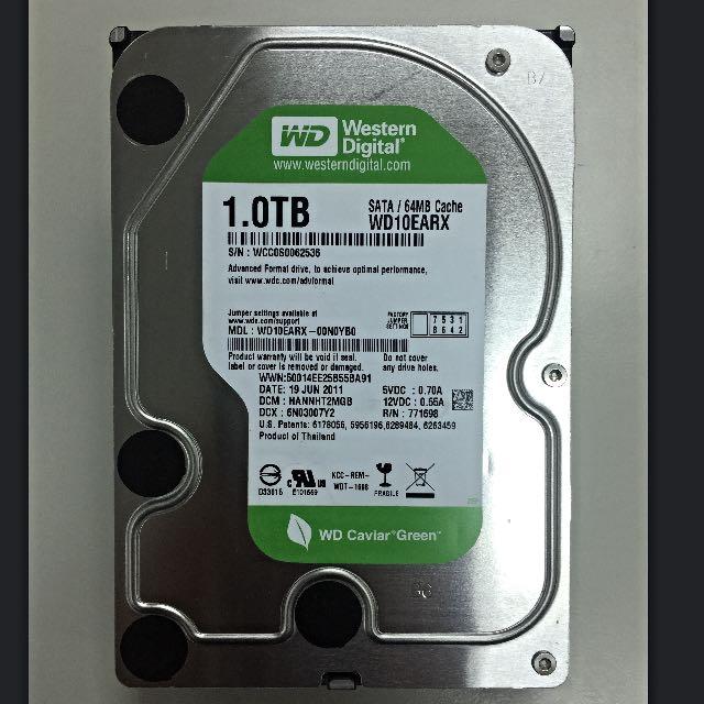 1TB容量 3.5吋硬碟 SATA介面