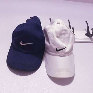 Nike dri-fit and White golf hat $15 each!