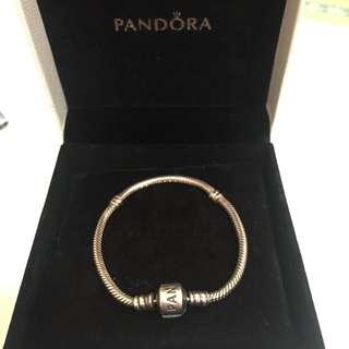 [保留]PANDORA 潘朵拉經典手鍊 16cm