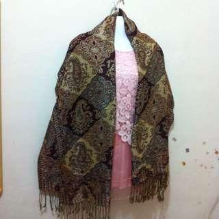 超美高質感圍巾,披肩