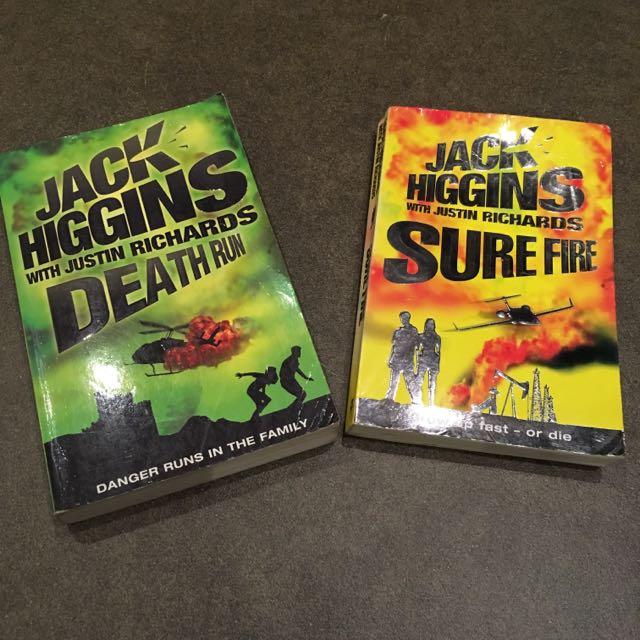 2 Jack Higgins Books