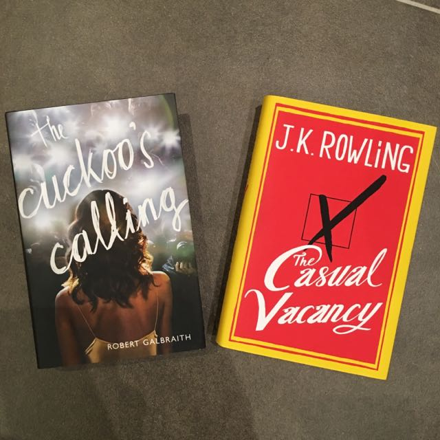 2 J.K.Rowling Books!