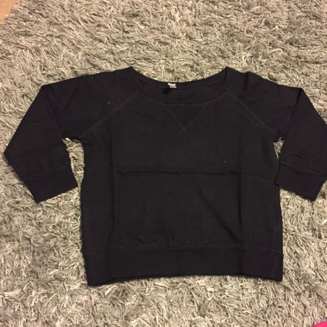 3/4 Sleeve Cotton Jumper