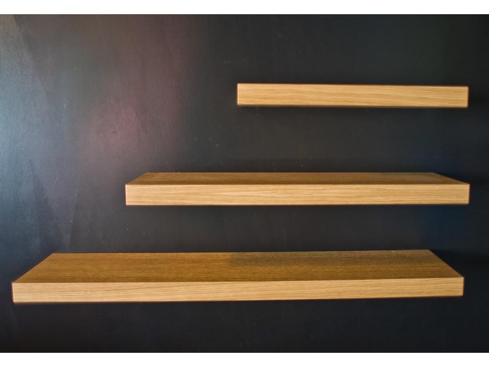 3 buah floating shelves uk 70 50 30 lebar 15cm
