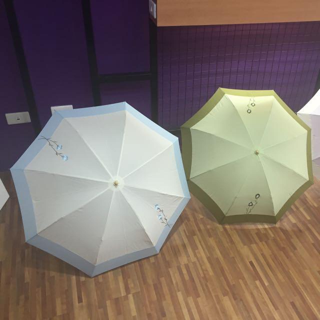 刺繡晴雨兩用傘