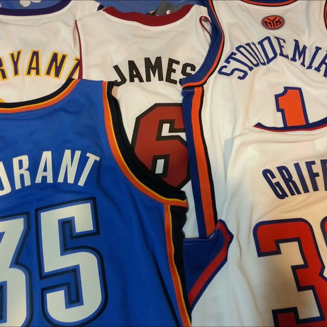全新吊牌均在 Kobe, Stoudemire, James, Durant, Griffin
