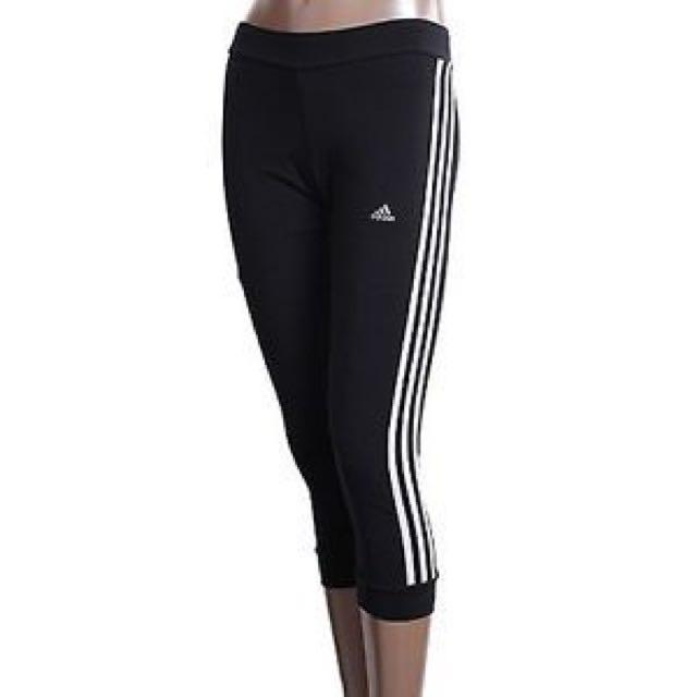 Adidas 七分運動褲
